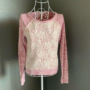 Arizona pink sweater size small